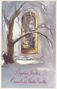 Martta Wendelin Finland, Martini, Illustrators, Christmas Cards, Posters, Painting, Artists, Vintage, Christmas E Cards