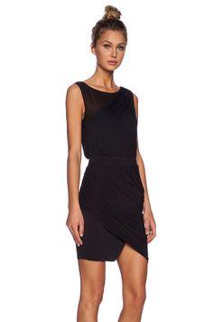 ADDISON Waverly Dress in Black