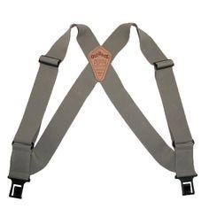 Perry Suspenders Mens Elastic Outback Side Clip Trucker Suspenders