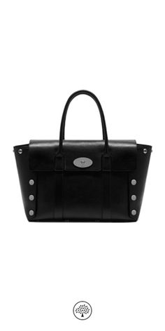 Shop the New Bayswater in Black Smooth Calf with Studs at Mulberry.com. The Bayswater was launched in 2003 and is one of our most iconic bags. For the Winter collection the new Bayswater gets a punk-rock inspired makeover, with a 'deconstructed' silhouette and Johnny Coca's signature hardware, press studs.