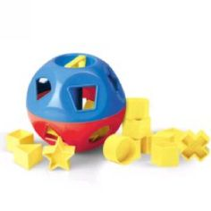 Tupperware shape ball--one of my top five children's toys!