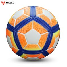 2017 Hot Selling Football Ball Advanced Synthetic Leather Soccer Balls Goals for Younger Teenager Youth Games Training Equipment Football Soccer, Soccer Ball, Youth Games, Team Names, Training Equipment, Cristiano Ronaldo, Goals, Entertaining, Sports