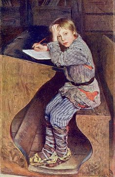 """Composition"", 1903. Nikolai Bogdanov-Belsky (1868-1945), Russian realist painter. Oil on canvas."