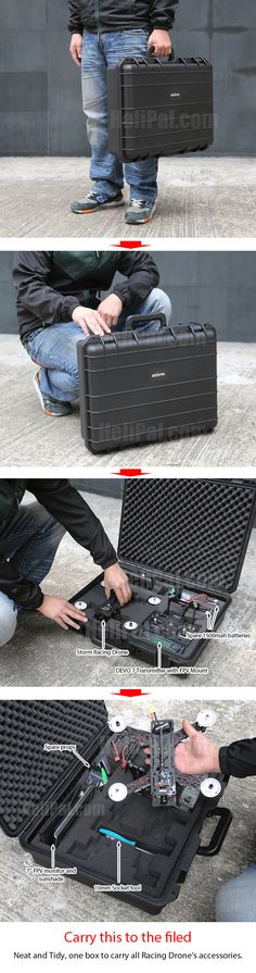 Carrying case for Racing Drone (Big) http://www.helipal.com/carrying-case-for-racing-drone-big.html