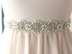Sakura Sash   Would be so pretty for the girls to wear something like this with their dresses since my own sash will be pearls and rhinestones... too freaking expensive tho!