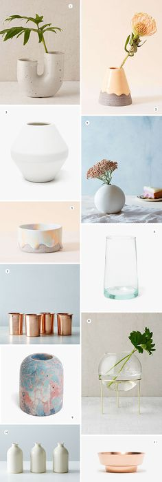 11 Cool Vases Perfect for Mini Flower Arranging