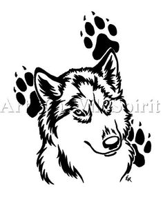 ... Tattoo Husky Tattoo Tattoo Designs Paw Prints Tattoo Tattoo'S