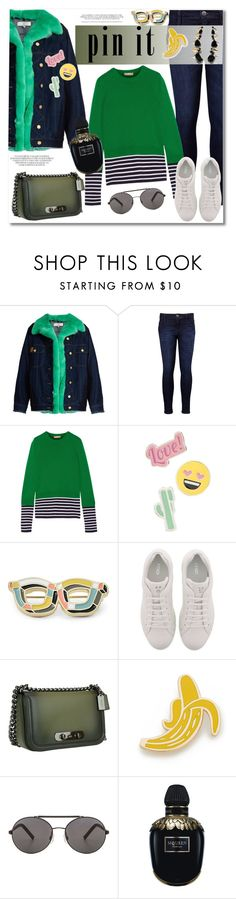 """""""Get the look"""" by vkmd ❤ liked on Polyvore featuring Natasha Zinko, Levi's, Michael Kors, Red Camel, FOSSIL, Fendi, Coach, Georgia Perry, Seafolly and Alexander McQueen"""