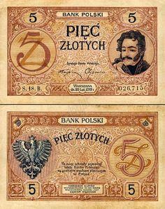Największy, kompletny, w pełni ilustrowany spis banknotów polskich od początku XX wieku. Banknoty przedstawiono w dokładnie opisanych seriach.