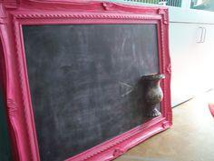 Huge chalkboard made for a daughter