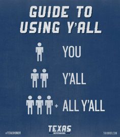 Yee Haw Y'all....Y'all are in Texas.