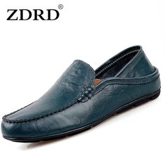 Check lastest price ZDRD  2017 Men 's Leather Shoes Leather Men' s Casual Men 's Comfortable Men' s Wearing Mocassin Flats just only $44.72 with free shipping worldwide  #menshoes Plese click on picture to see our special price for you