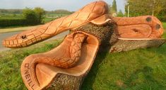 Chainsaw Wood Carvings   Andy O'Neill Wood Sculptor   Chainsaw Sculptor   Wood Carving