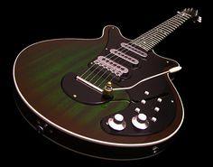 "Green ""Mossburst"" (my word for it) by RS Custom Guitars (Image from http://s1118.beta.photobucket.com/user/musiccitypickers/media/RS%20Custom%201964%20Supreme-%20Green-%20OHSC/DSCF2308.jpg.html)"