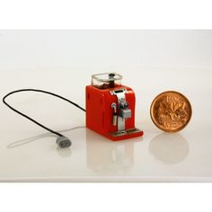 scale handmade coffee maker from Small Scale Showcase Coffee Machine, Coffee Maker, Miniature Kitchen, Dollhouse Miniatures, Artisan, Table Lamp, Brass, Dollhouses, Scale