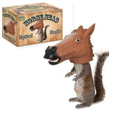 A horse-head squirrel feeder: $15   72 Things That Are Definitely Better Than Oprah's 72 Favorite Things