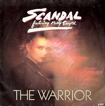 45cat - Scandal Featuring Patty Smyth - The Warrior / Less Than Half - CBS - UK - A4367