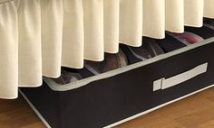 Groupon - 12-Pair Under-the-Bed Shoe Organizer in Black or Pink. Free Returns. in Online Deal. Groupon deal price: $11.99