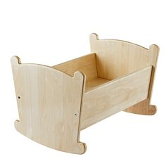 Every little doll will look forward to naptime when they're rocked to sleep in our Nod Doll Cradle. It's made from solid wood and coordinates nicely with your little one's small-sized friends. Scrap Wood Crafts, Scrap Wood Projects, Woodworking Projects For Kids, Driftwood Crafts, Diy Projects, Canvas Crafts, Baby Doll Bed, Doll Beds, Barbie Furniture