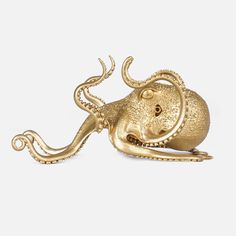 Octopus Decor, Steampunk, Vintage Tiki, Silver Dragon, Dragon Pendant, Novelty Items, Statue, Tentacle, Unique Photo
