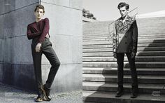 Anatol Modzelewski Goes Sartorial for Wanted Magazine by Christoph Musiol