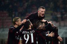 @Milan Luca Antonelli regala tre punti importanti al Diavolo.  Vittoria di misura al Mezza per il Milan, che mette ko il Torino grazie a un goal sul finire del primo tempo di Antonelli #9ine