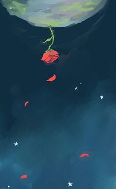 Find the best The Little Prince Wallpaper on GetWallpapers. We have background pictures for you! Rose Wallpaper, Tumblr Wallpaper, Iphone Wallpaper, Wallpaper Quotes, Wallpapers Amor, Prince Drawing, Background Pictures, Aesthetic Wallpapers, Images