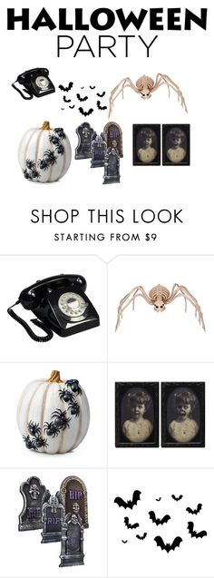 """""""👌🎃"""" by awseome-girl-5953 ❤ liked on Polyvore featuring interior, interiors, interior design, home, home decor, interior decorating, GPO, Improvements and Halloweenparty"""