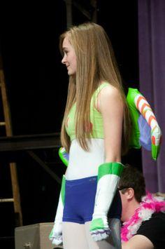Girl's Buzz Lightyear costume