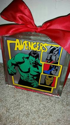 Check out this item in my Etsy shop https://www.etsy.com/listing/265596255/avengers-8x8-lighted-glass-block