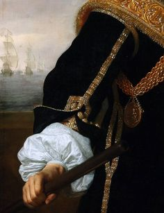 """Bartholomeus van der Helst """"Portrait of Captain Gideon de Wildt"""" 1657,(detail)"""