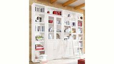 Home affaire, Bücherwand »Bergen«, Breite 255 cm Jetzt bestellen unter: https://moebel.ladendirekt.de/wohnzimmer/regale/buecherregale/?uid=5d58f008-aba0-5a7f-b630-8a990474675a&utm_source=pinterest&utm_medium=pin&utm_campaign=boards #buecherregale #wohnzimmer #regale