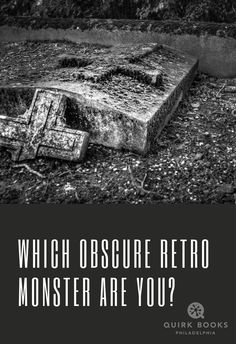 Whats your monstrous patronus? Take a deep dive into the lesser-known monsters of the '70s and '80s, like those found in Grady Hendrix's Paperbacks from Hell, and find out what niche beast you most resemble!