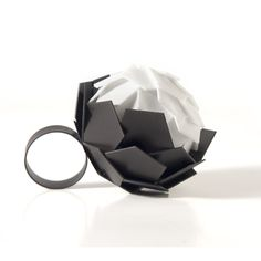 Charles Wyatt ring.  Mild steel, laser sintered nylon