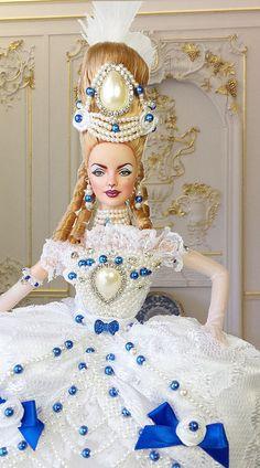 http://www.ebay.com/sch/imperialisooakdollss/m.html BARBIE MUSE OOAK SEXY MARIE ANTOINETTE COLLECTOR REPAINT DOLL By IMPERIALIS   par IMPERIALIS.OOAK.DOLLS