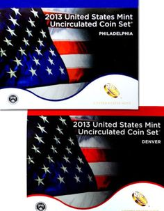 2015 United States Mint Uncirculated Coin Set 28 Coins Philadelphia /& Denver P/&D