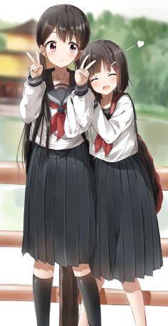 Anime,school girls