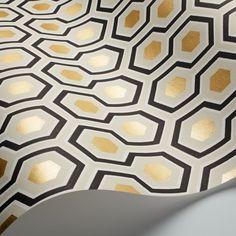 ... Papier peint Hicks' Hexagon Cole and ...