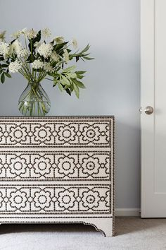 This is a dresser that has character!