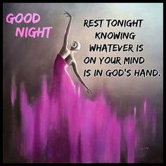 Goeie Nag, Goeie More, Mindfulness, Night, Awareness Ribbons