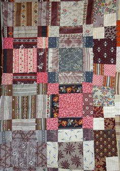 Sensational photo - browse our page for a lot more good tips! Old Quilts, Antique Quilts, Small Quilts, Easy Quilts, Vintage Textiles, Vintage Quilts, Nine Patch Quilt, Crazy Quilt Blocks, Half Square Triangle Quilts