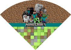 Cone de guloseimas Minecraft