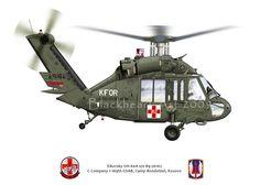 UH-60 Blackhawk MedEvac | por blackheartart