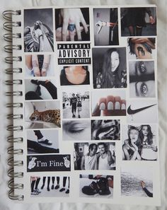 notebook collage || i will do this