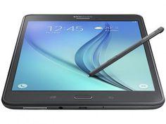 """Tablet Samsung Galaxy Tab A 16GB 8"""" 4G Wi-Fi - Android 5.0 Quad-Core Câm 5MP + Frontal 2MP GPS com as melhores condições você encontra no Magazine Jbtekinformatica. Confira!"""