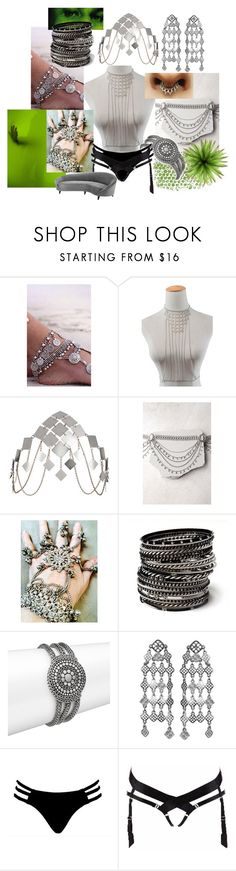 """""""citrine//courtesan"""" by weeaboo-chan ❤ liked on Polyvore featuring Kiki Belle, Agent Provocateur, LULUS, Calvin Klein, Amrita Singh, John Hardy, Dolci Follie and Eichholtz"""