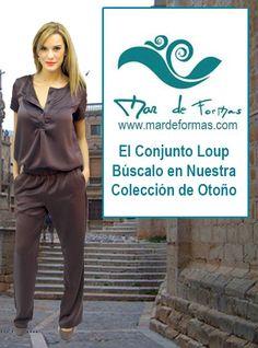 El Conjunto Loup Búscalo en nuestra Colección de Otoño http://www.mardeformas.com/es/239-conjunto-loup.html