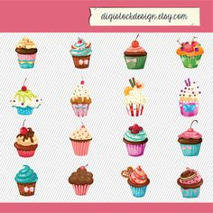 cupcakes clipart - Google Search