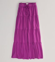 AE Tiered Maxi Skirt. Love!