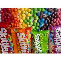 Favorite #4 : My favorite candy is skittles. I used to buy three bags at one time and hide them under my mattress so no one would find them.